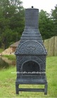 Cast Iron pizza oven outdoor chiminea