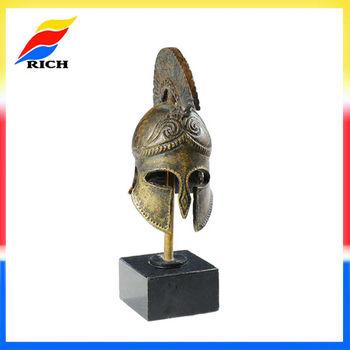 Metal Roman Helmet