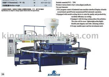Pvc slipper injection molding machine,slipper machine,rain boot machine