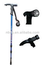3/4section led light walking sticks