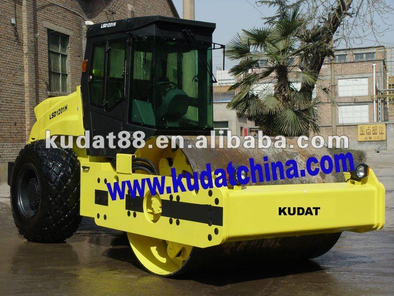 single drum vibratory roller (hydraulic 12 ton)