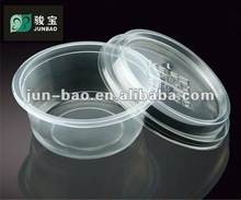 300ml dessert disposable plastic bowl round food packaging food container