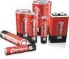 Carbon zinc battery R03, R6, R14, R20, 6F22