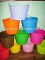 Lavagem banheira de plástico, flexível cesta de lavanderia