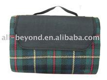 plaid color waterproof EVA backing sleeping mat (RSC-7010)