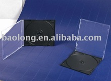 Slim Cd Jewel Case 5.2mm PS With Black Tray