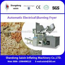 Automatic potato chips frying machine