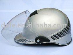 Silver Half Face motorcycle Helmet for summer DF-205