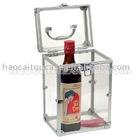 Acrylic wine packing box, acrylic case, aluminum case