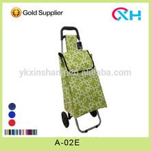 KIK supermarket Shopping bag trolley Promotion shopping cart wholesale folding shopping carts and trolley