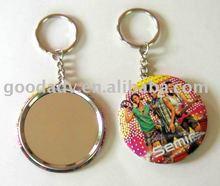 Schlüsselanhänger, zinn spiegel schlüsselbund/schlüsselanhänger