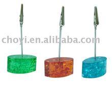 polyresin Paper holder/promotional paper holder