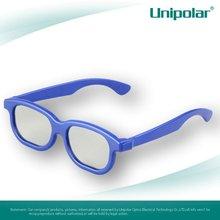 Plastic circular polarized 3D Glasses Eyewear for children