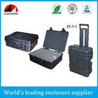Hard plastic waterproof case for equipment