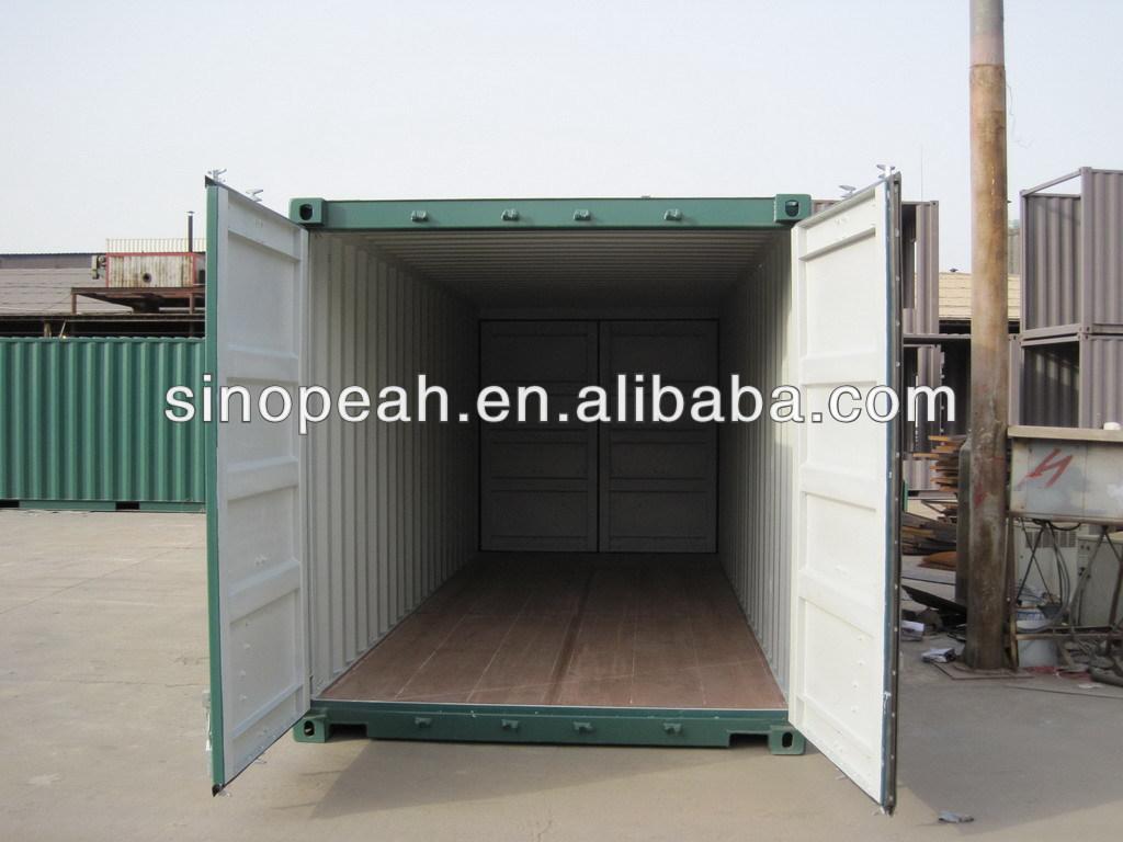 20ft Double doors containers, double end doors