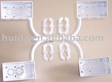 fitting mould PVC electric box 4 cavities fitting mould