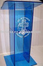 Acrylic Lectern & Platform,Perspex Dais & Rostrum,Lucite Pulpit & Podium