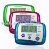 pedometer with 5 digits LCD display step counter promotional electronics gift items
