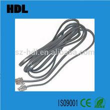 6P2C / 6P4C RJ11 telephone connect cable
