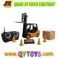 Mini rc 1: 20 construção carro elétrico empilhadeira