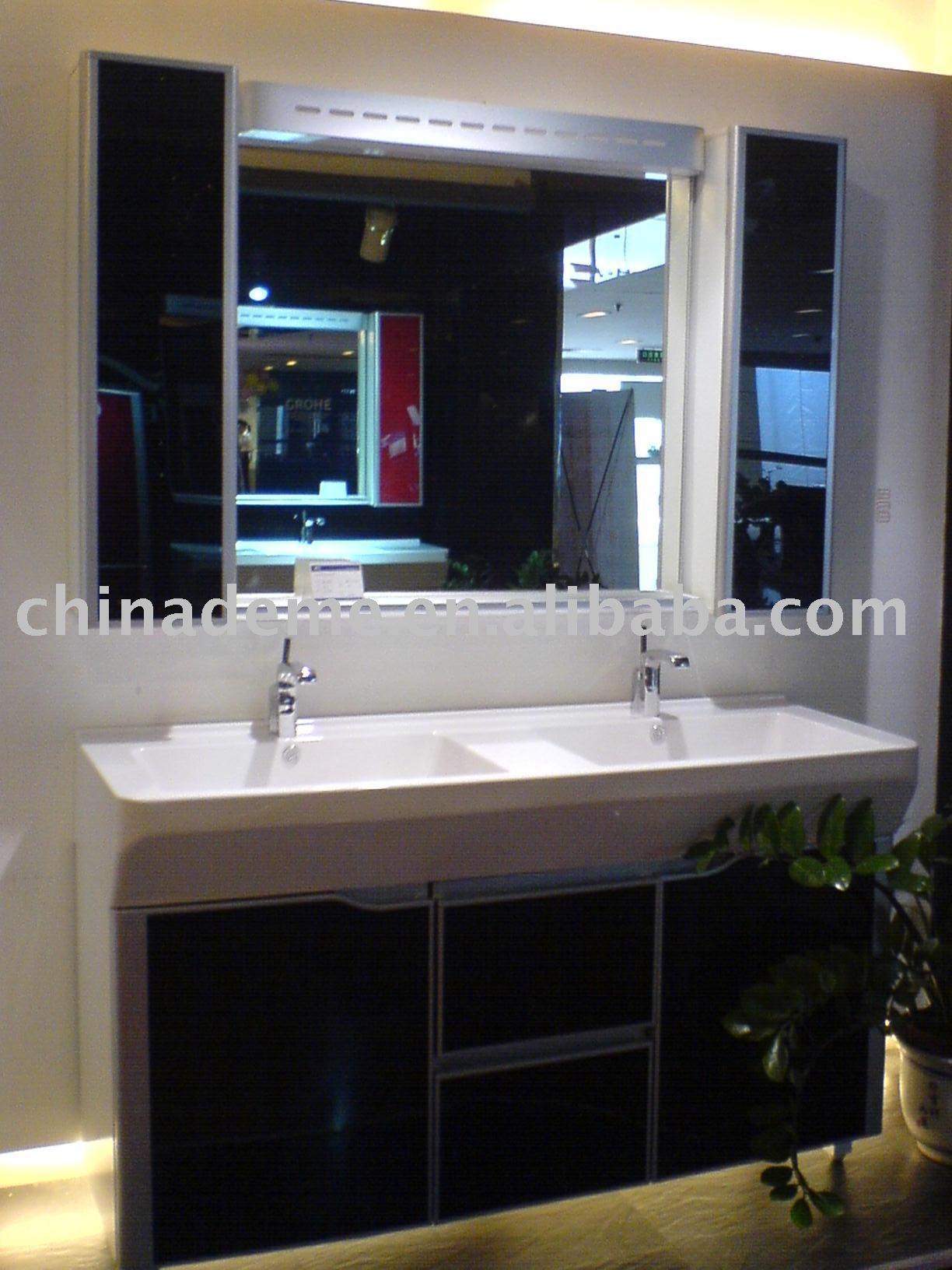 Vender acrílico armário de banheiro DM1400D Toucador em banheiro ID  #397892 1224 1632