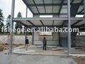 Marco de metal de construcción, construcción de edificios prefabricados, luz de acero estructura de almacén