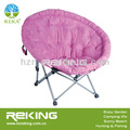 De color rosa plegable silla de luna para adultos