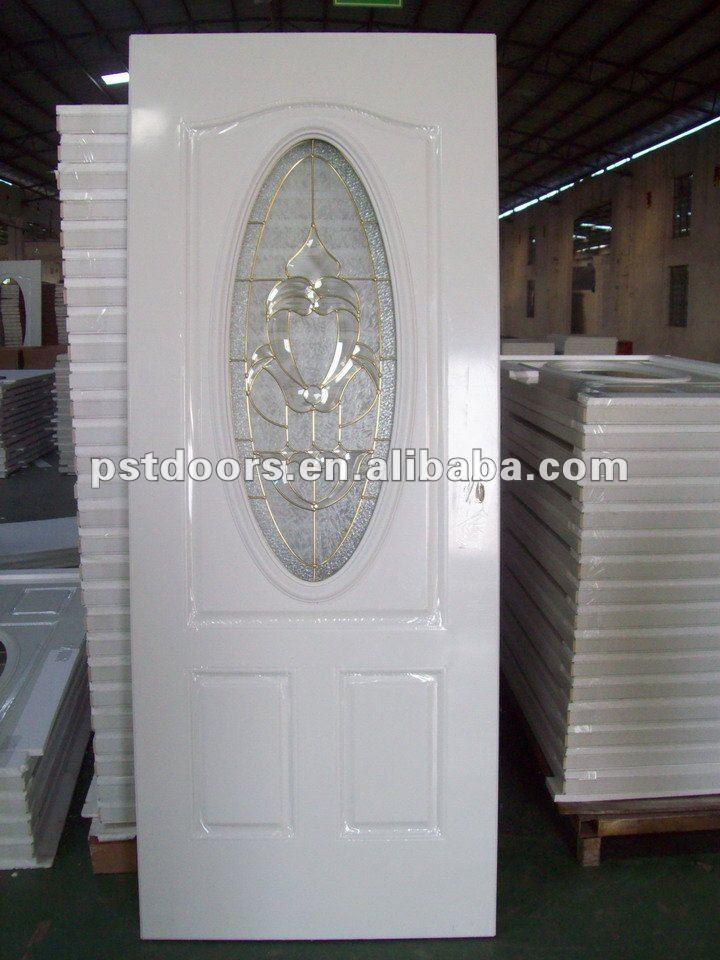 Oval Glass Entry Door Small Oval Glass Steel Door Steel Panel Door With Oval