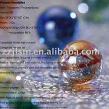 Eco solvent waterproof Transparent PET film