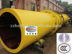 High quality silica sand rotary dryer machine