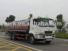 Fuso 25000 liters chemical liquid truck, hydrochloric acid Or sulfuric acid.