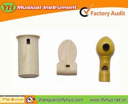 mini musical instruments wood bird whistle