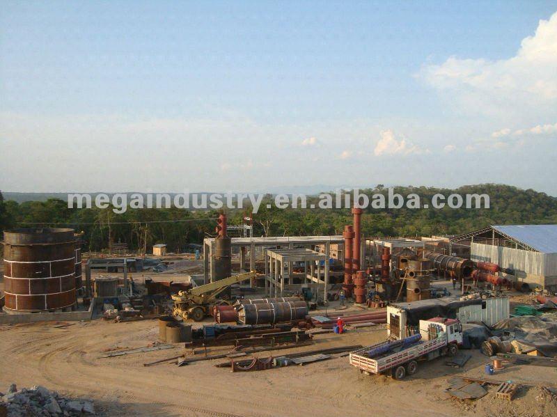 L'acide sulfurique usine
