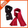2015 Winter promotional custom solid color polar fleece scarf