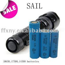 3.7v 18650 2200 mah agli ioni di litio batteria