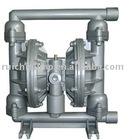 Air-operated high pressure diaphragm pump