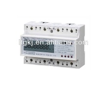 Three Phase electronics digital Multi-tariff kWh Meter
