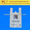 Prix usine! Ayurvedhic recyclés. en plastique transparent d'impression t- shirt gilet sacs à provisions
