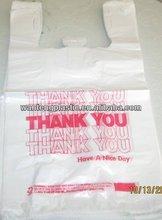 PE Printing T-shirt Bags