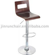 modern swivel adjustable wooden pub JR-6135 bar stool