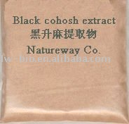 2.5% Triterpenoid Saponins Black Cohosh Extract