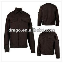 320GSM Brown 100%Cotton Flame Retardant Jacket