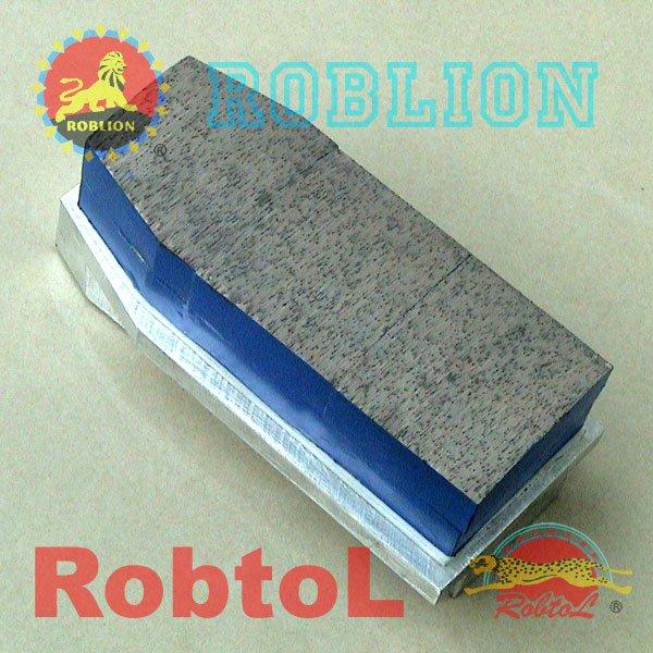 long life blue Metal Bond Diamond Fickert with Aluminium Body for Granite--STCL