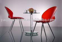 KA011 Acrylic small round table