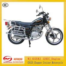 GN125 Chopper/Cruiser Motorcycle(WJ-SUZUKI 125cc Engine)