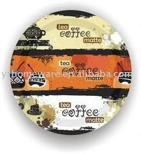 Custom printed disposable paper plates