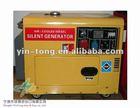 Portable 5.0Kw Silent Diesel Electric Generator Set