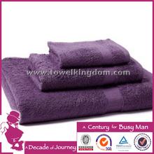 2014 new design bamboo fiber hand towel