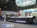 Skyjet sincronizada lateral doble impresora solvente( 3.3m, 8 cabezas, 4colors)