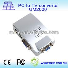 professional HD vga to av converter cable UM2000